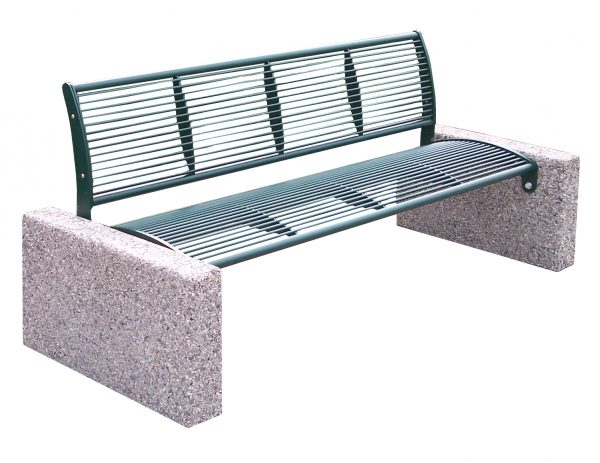Bench Tauri Classic with backrest
