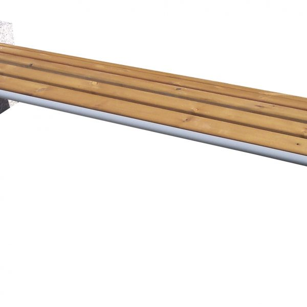 Bench Tauri Classic wood without backrest