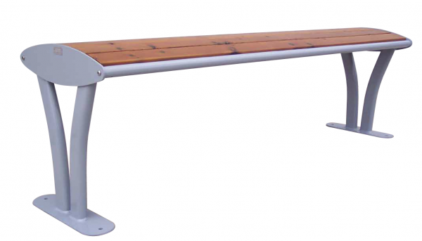 Bench Tauri wood without backrest